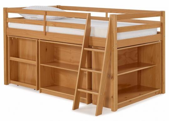 Junior Loft Bed W Storage